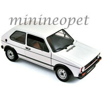 NOREV 188484 1977 VW  VOLKSWAGEN GOLF GTI 1/18 DIECAST MODEL CAR WHITE