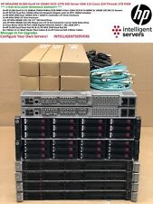 HP MSA2040 DL360 Gen9 V4 12TB SSD & SAS 10Gbit iSCSI 112-Core 1TB SAN Solution