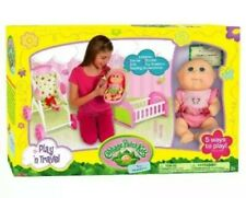Cabbage Patch Kids Play n Travel: Tiny Newborn with Folding Accessories Carrier