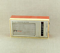 RAR Altes Radio KOYO Six Transistor Transistorradio Sammlerstück JAPAN aus 1960