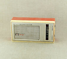 RAR Altes Radio KOYO Six Transistor Transistorradio Sammlerstück JAPAN aus 1960