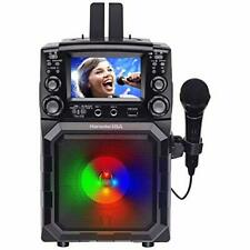 Karaoke Usa Portable Karaoke Machine 4.3 Screen Bluetooth Recording Pa Function