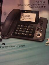 Panasonic KX-TGF352M  DECT 6.0 Corded/Cordless Phone Digital Answering System