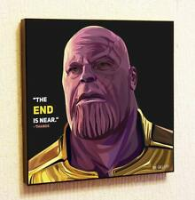 Thanos Avengers Infinity War Art Posters Painting Print Photo Framed Marvel