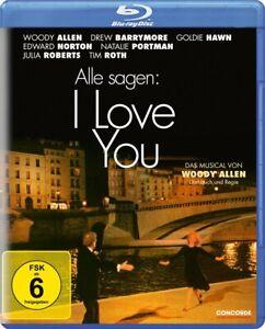 Alle sagen: I Love You [Blu-ray/NEU/OVP] Musical voller Romantik von Woody Allen