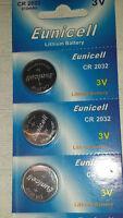 3x Knopf - Batterie EUNICELL CR-2032 3V 210 MAh Lithium Battery  #4