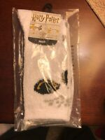 New Harry Potter Hedwig Fuzzy Slipper Sock Men Women Youth Sz 9-11 See Chart