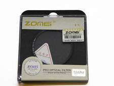 Zomei 58mm Ultra Slim UV Filter AGC Optical Glass Lens Protector Filter UK Stock