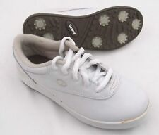 New Dexter Tempo Golf Shoes Waterproof White Leather Size 6 M