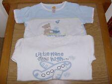 1 y 1 Manga Corta Manga Larga T-Shirts-de 3-6 meses-Chicos