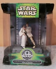 Star Wars action figure Luke and Leia Swing to freedom 2002 MISB NEW 25 year set