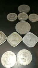 OLD INDIA RARE COINS 1947 - 1968 COINS 11 coins lot 96.5 Rupee