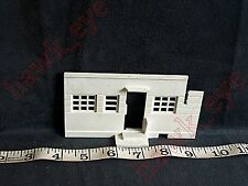 Plasticville Airport White Hanger Back Piece O-S Scale