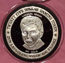 Laughlin Nevada Riverside Resort 1 Troy Oz .999 Fine Silver Round Proof Coin Gem