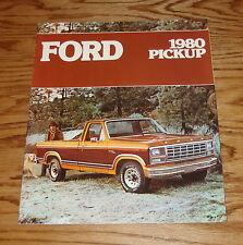Original 1980 Ford Truck Pickup Sales Brochure 80 F-100 F-150 F-250