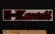KAWASAKI Vintage Motorcycle STICKER Decal Motocross Superbike Z1 KZ900 H1 H2 F9