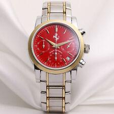 Girard Perregaux Ferrari Chronograph Red Dial Steel & 18k Yellow Gold