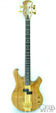 Used Custom Handcrafted 4-string Bass Made with Exotic Wood - KOA-NECKTHROUGH