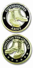 U.S. Army / Boots - Cut Out Challenge Coin 2522