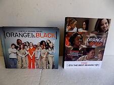 ORANGE IS THE NEW BLACK 2 COMPLETE DVD SETS SEASON 1 & SEASON 4 EIGHT DISCS