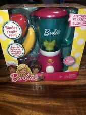 BARBIE Kitchen Playset Toy Blender Pink Kitchen Toy Set