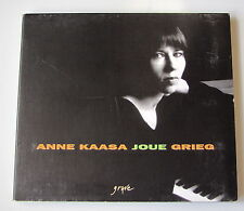 ANNE KAASA JOUE GRIEG . OEUVRES POUR PIANO .  DIGIPACK CD
