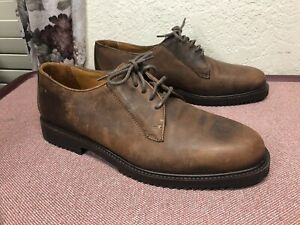 Cole Haan Men's Country Nubuck Leather Brown Oxford Round Toe 6361 Size US 11 M