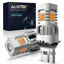 Amber 7440 Anti Hyper Flash LED Turn Signal Parking Light Bulbs Extreme Bright