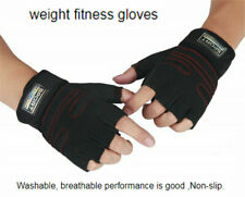 Women Men's Weight Lifting Gym Gloves Training Fitness Wrist Wrap Sports Mitten