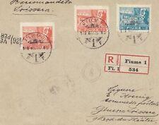 Fiume: 1919: Einschreiben