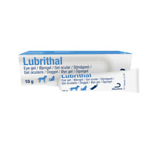 More details for lubrithal lubricating moisturising dry eye drops gel for cats & dogs 10g