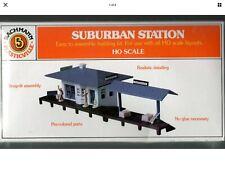 HO Plasticville  Railroad Train Diorama SUBURBAN STATION SEALED  (NIBag) No Box!