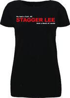 Nick Cave & The Bad, Seeds Stagger Lee, T Shirt Lyrics, Murder Ballads
