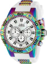Invicta 25498 Speedway Men's 50mm Rainbow Stainless Steel White Dial Watch