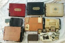 8 Incredible Antique & Vintage Photo Albums Marsh Family Hundreds of Photos