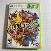 WWE All Stars Game Microsoft Xbox 360, 2011) Complete Video Game Free Ship