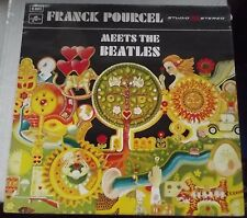 FRANCK POURCEL MEETS THE BEATLES 1970 COLUMBIA TWO 371 -1 -1 EXCELLENT CONDITION