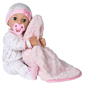 Baby Hope - 16 inch Realistic Newborn Baby Doll with Doll Accessories