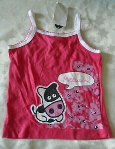 New Withit Girls Vest Top Age 4 Pink