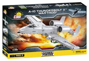 Cobi 5812 A-10 Thunderbolt II™ Warthog® Bausatz 568 Teile sofort lieferbar!!!