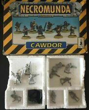 GW 1995 Necromunda House Cawdor Gang Squad Boxed Warhammer 40K -- Fast Post