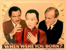 When Were You Born - 1938 - Anna May Wong Margaret Lindsay Mystery Film DVD