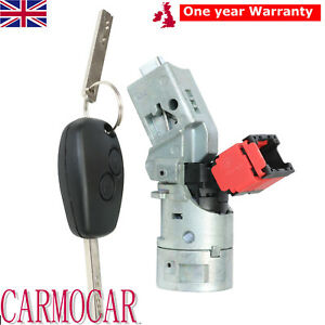 Ignition Lock Barrel Switch For Vauxhall Renault Wind Clio Modus Master Trafic