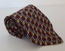 Burberrys of London Business Neck Tie Men's Classic Silk Diamond Stripes Silk