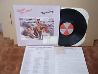 MARK LEVY –TAKE OFF YOUR CLOTHES New Clear '86 LP US FOLK PSYCH M Inserts Letter
