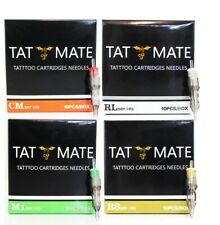 70PCS Tatmate Disposable Tattoo Cartridge Needles Combo Liners and Magnums M1