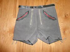 Alte kurze Lederhose von Haelson Tracht / Vintage vermutl. 60er Jahre - XXS - 2
