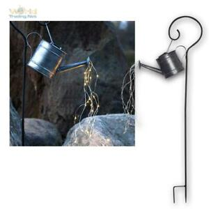 LED Garden Plug Watering Can Solar Light Bundle Chain Decoration Rod