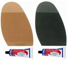 Mens/Ladies Executive Premium Stick on Soles With Glue Shoe Repair Kit Non Slip