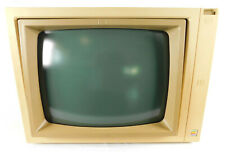 "Vintage Apple II Model A2M2010 12"" Green Phosphor Monitor Hand Written S/N 1983"